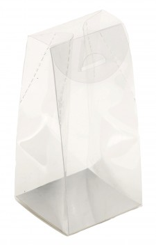 Caja transparente de PVC perfumería