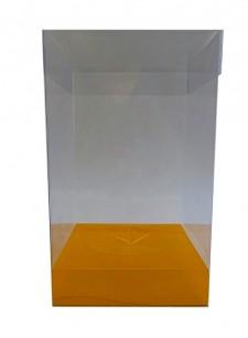 Caja de PVC transparente para mona de pascua