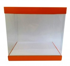 Caja PVC transparente para mona de pascua