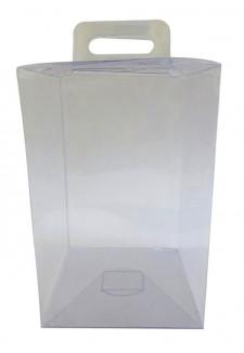 PVC transparente para huevos de pascua.